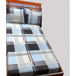 BOXED STRIPPED BEDSHEET