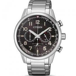 CITIZEN CA4420-81E MEN´S ECO-DRIVE CHRONOGRAPH BLACK DIAL BRACELET WATCH