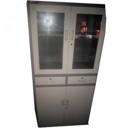 Global Full height Metal Filling Cabinent with sliding door and glass