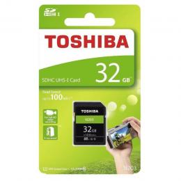 New Toshiba N203 32GB 32G 100MB/s SDHC SD Card Flash Memory UHS-I U1 4K Class 10 FOR CAMERA