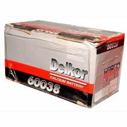 DELKOR BATTERY 62AH/12V CAR BATTERY (K) - deluxe.com.ng