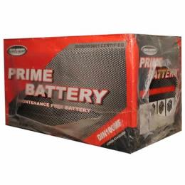 PRIME BATTERY 75AH/12V CAR BATTERY (C) - deluxe.com.ng