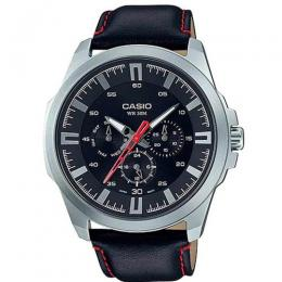 CASIO GENT'S MTP-SW310L-1AVDF ENTICER MULTI DIAL DRESS WATCH