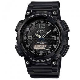 Casio AQS810W-1A2V Men's Black Solar Ana-Digi Sports Watch