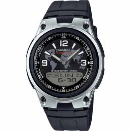 Casio AW80-1A2V Men's Databank World Time Telememo Medium Size Watch
