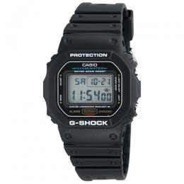 CASIO DW5600E-1V MEN'S BLACK STRAP G-SHOCK WATCH
