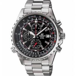 Casio EF527D-1AV Men's Edifice Silver Bracelet Watch