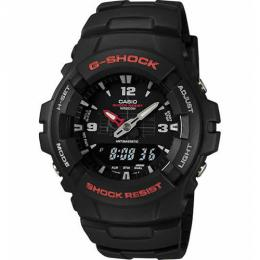 Casio G100-1BV Men's G-Shock Classic Analog-Digital Watch