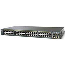 Cisco Catalyst 2960 Plus 24 10/100 PoE + 2 T/SFP LAN Base(DT)