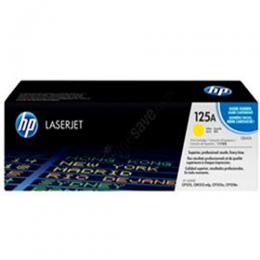 HP Yellow 125A Toner Cartridge - (CB542A)