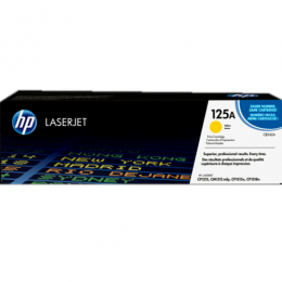 HP 125A Yellow Original LaserJet Toner Cartridge (CB542A)