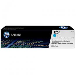 HP 126A Cyan Original LaserJet Toner Cartridge (CE311A)