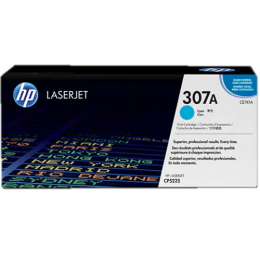 HP 307A Cyan Original LaserJet Toner Cartridge (CE741A)
