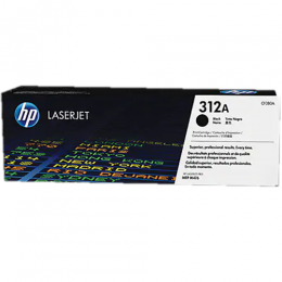 HP 312A Black Original LaserJet Toner Cartridge (CF380A)