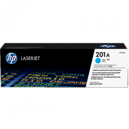 HP 201A Cyan Original LaserJet Toner Cartridge (CF401A)