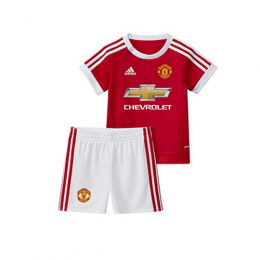 (Customized) Children Manchester United Authentic Home Jersey 2015/16