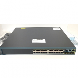 Cisco Catalyst 2960S 24 GigE PoE 370W, 4 x SFP LAN Base