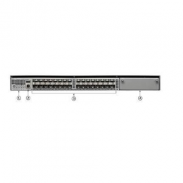 Cisco ONE Catalyst 4500-X 32 Port 10G IP Base, Front-to-Back