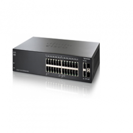 Cisco SF200-24P 24-Port 10 100 PoE Smart Switch