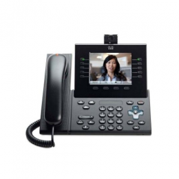 Cisco UC Phone 9951, Charcoal, Std Handset with Camera