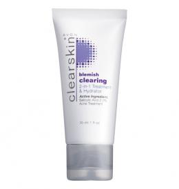 Avon Clearskin Blemish Clearing 2-in-1 Treatment & Hydrator