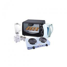Saisho Electric Blender + Kettle + Oven + Cooker Bundle 4