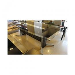 Glass Panel Conference Table