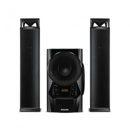 PHILLIPS MMS2160B/94 Multimedia Speakers 2.1 60w