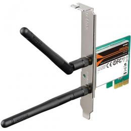 D-LINK Wireless N 300 PCI Express Desktop Adapter, 2 x detachable 2dBi antenna. (Pack of 80units, bulk pack - deluxe.com.ng