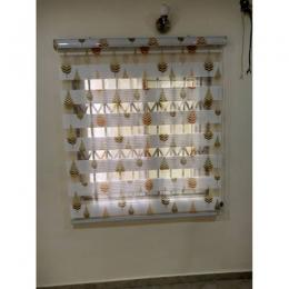 CLASSY Day And Night Window Blind Medium 5FT by 5FT 042