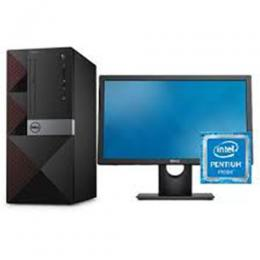 Dell |19.5″ Monitor| Desktop 4GB RAM|500 GB Hard Drive|Intel Pentium FreeDOS (DW)