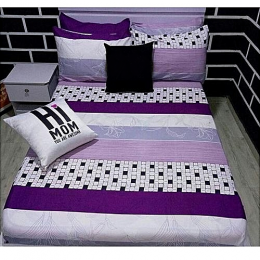Deluxe Bedsheets With 2/4 Pillow Cases