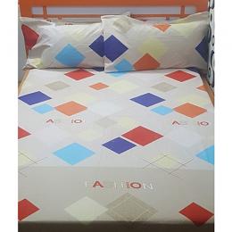 Deluxe Coloured Diamond Bedsheet