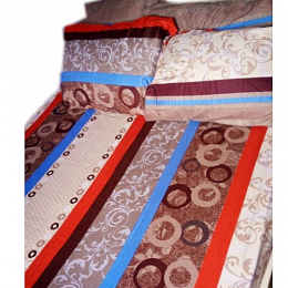 Deluxe Bedsheet With 4 Pillow Cases