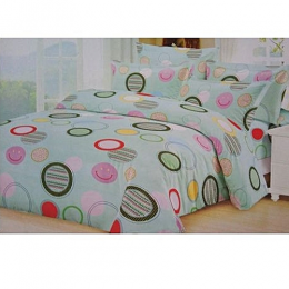 Deluxe Bedsheet With 4pillow Cases