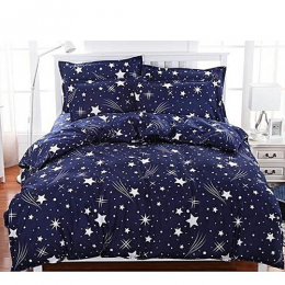 Deluxe Bedsheets With 2/4Pillow Cases