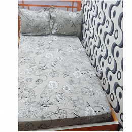 Deluxe Ash Flowered Bedsheets