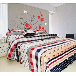Deluxe Bedsheet With 2pillow Set