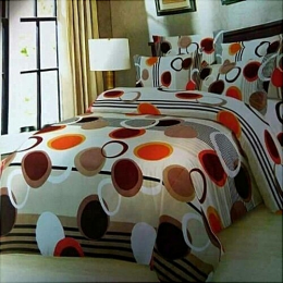 Deluxe Bedsheets With 2/ 4pillow Cases