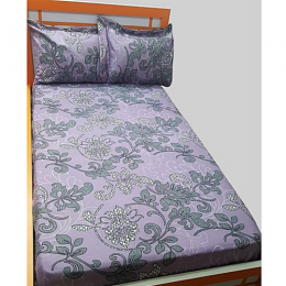 Deluxe Purple Design Bedsheet