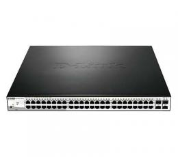 48-Port 10/100/1000BaseT PoE + 4 Gigabit SFP ports Web Smart SKU DGS-1210-52MP - deluxe.com.ng