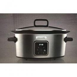 Crock Pot Crock-Pot Digital Slow Cooker Family Size XL 5.6L + 2.4L Capacity 5-6 People