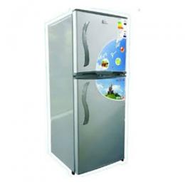Nexus Fridge Silver with Flower | NX-175