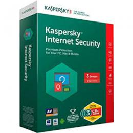 Kaspersky Internet Security 4 Users (3+1 Free)(DW)