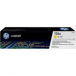 HP 126A Yellow, CE312A Original LaserJet Toner Cartridge (DW)