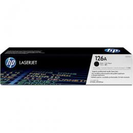 HP 126A, CE310A Black Original LaserJet Toner Cartridge (DW)