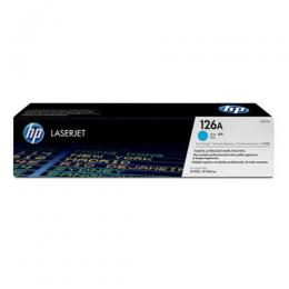 HP 126A, CE311A CYAN Original LaserJet Toner Cartridge (DW)