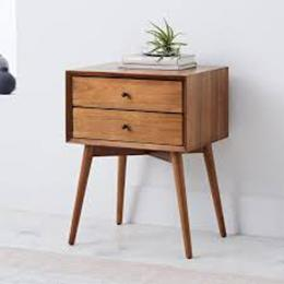 CENTURY BEDSIDE CABINET - deluxe.com.ng