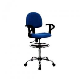 Office Teller Chair (Blue)