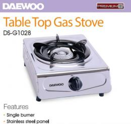 Daewoo Table Top Gas Stove Ds-g1028